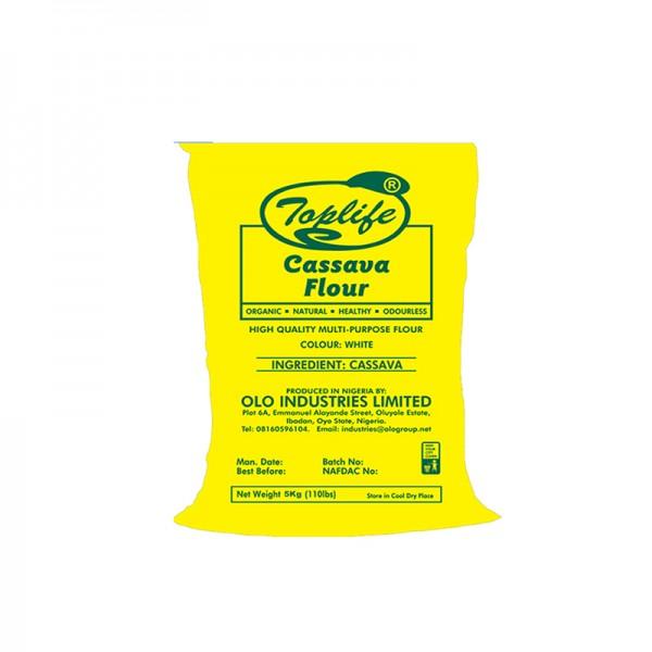 Toplife®WhiteCassava Flour (5kg)