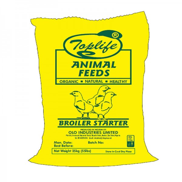 Toplife®Broiler Starter (Pelletized)
