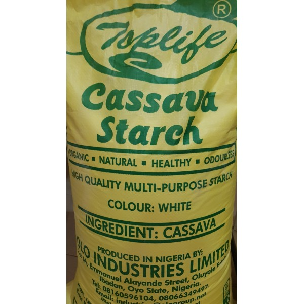 Toplife® Dry Cassava Starch (Food and Pharmaceutical Grade)