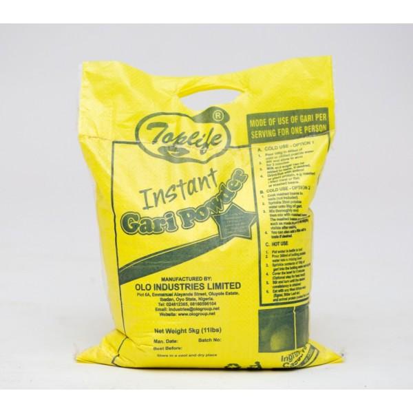 Toplife®Gari, Bio-fortified Vitamin A YellowBland (20kg)