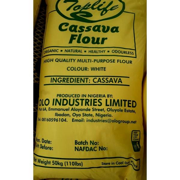 Toplife®WhiteCassava Flour (50kg)